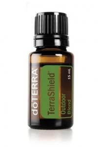 Mešanica eteričnih olj TerraShield - naravni repelent